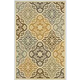 Lacy Large Rug in Brown/Gold R402211