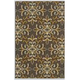 Savery Medium Rug in Brown/Gold R402222