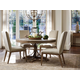 Tommy Bahama Home Cypress Point 5pc Atwell Dining Room Set in Hatteras Gray
