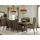 Tommy Bahama Home Cypress Point 9pc Pierpoint Dining Room Set in Hatteras Gray