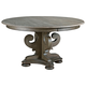 Kincaid Greyson Grant Round Pedestal Dining Table in Alder and White Oak 608-701P