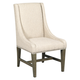 Kincaid Greyson Lawson Upholstered Host Chair in Alder and White Oak (Set of 2) 608-620