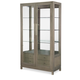 Rachael Ray Home Highline Bunching Display Cabinet in Greige 6000-570 PROMO