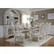 Liberty Furniture Magnolia Manor 7pc Rectangular Leg Dining Set in Antique White EST SHIP TIME IS 4 WEEKS CODE:UNIV20 for 20% Off