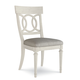ART Furniture Roseline Sophie Fabric Seat Side Chair in White 248206-2317 (Set of 2)