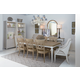 ART Furniture Roseline 9pcs Lucy Rectangular Dining Set