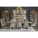 A.R.T Arch Salvage 7pc Pearce Dining Set in Parchment
