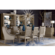 A.R.T. Cityscapes 9pc Bedford Rectangular Dining Room Set in Stone