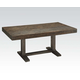 Acme Eliana Rectangular Dining Table in Salvage Brown 71710