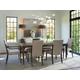 Lexington Ariana 7PC Chateau Rectangular Dining Room Set in Platinum