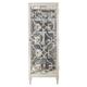 Bernhardt Domaine Blanc 1 Door Curio in Dove White 374-356