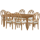 Rachael Ray Home Everyday Dining 7pc Gathering Dining Set in Nutmeg