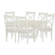 Rachael Ray Home Everyday Dining 7pc Gathering Dining Set in Sea Salt