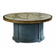 A.R.T Morrissey Outdoor Sutter Firepit Table in Charcoal 918460-4242