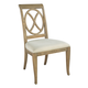 Hekman Urban Retreat Ring Back Side Dining Chair in Khaki (Set of 2)