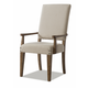 Klaussner Coming Home Good Company Upholstered Arm Chair in Wheat (Set of 2) 927-906