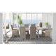 Beachcroft Outdoor 7-Piece Rectangular Dining Set in Beige P791