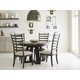 Kincaid Plank Road 5pc Button Dining Set in Charcoal CODE:UNIV20 for 20% Off