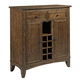 Kincaid The Nook Wine Server in Hewned Maple 664-857