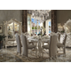 Acme Versailles 7-Piece Counter Height Dining Set in Bone White
