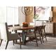 American Drew AD Modern Synergy Curator 9-Piece Rectangular Dining Room Set