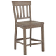 Magnussen Furniture Tinley Park Counter Stool in Dove Tail Grey (Set of 2) D4646-80