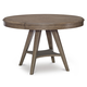Legacy Classic Apex Round to Oval Pedestal Table in Dusk 7700-521
