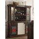 ECI Furniture Miller High Life Back Bar & Hutch in Antique Walnut