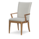 Legacy Classic Furniture Hygge Collection Upholstered Back Arm Chair (Set of 2) in Cashmere 7600-141 KD