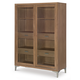 Legacy Classic Furniture Hygge Collection Display Cabinet in Cashmere 7600-570