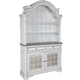 Liberty Furniture Magnolia Manor Display China in Antique White SPECIAL