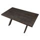 New Classic Aubree Rectangular Dining Table in Smoke D682-10