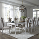 Liberty Furniture Magnolia Manor 7pc Rectangular Leg Dining Set in Antique White CODE:UNIV20 for 20% Off