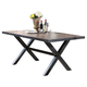 Acme Furniture Earvin Rectangular Dining Table in Weathered Oak 72230 EST SHIP TIME IS 4 WEEKS