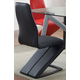 Acme Furniture Hassel Side Chair in Gray and Gun Metal (Set of 2) 70605 EST SHIP TIME IS 4 WEEKS