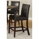 Acme Furnture Idris Counter Height Chair in Espresso (Set of 2) 70357 EST SHIP TIME IS 4 WEEKS
