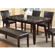 Acme Furniture Idris Dining Table in Espresso 70520 EST SHIP TIME IS 4 WEEKS