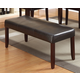 Acme Furniture Idris Bench in Espresso 70523 EST SHIP TIME IS 4 WEEKS