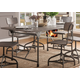 Acme Furniture Jonquil Dining Table in Gray Oak and Sandy Gray 70275 EST SHIP TIME IS 4 WEEKS