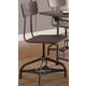 Acme Furniture Jonquil Swivel Side Chair  in Gray Oak and Sandy Gray (Set of 2) 70277 EST SHIP TIME IS 4 WEEKS