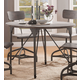 Acme Furniture Jonquil Round Dining Table in Gray Oak and Sandy Gray 70285 EST SHIP TIME IS 4 WEEKS