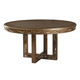 Acme Furniture Orianne Round Dining Table in Antique Gold 63785