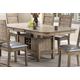Acme Furniture Ramona Rectangular Dining Table in Rustic Oak 72000