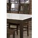 Vaughan-Bassett Simply Dining RT/Slat Side Chair (Set of 2) in Dark Maple 220-040