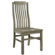 Vaughan-Bassett Simply Dining V/Slat Side Chair (Set of 2) in Grey 221-010