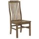 Vaughan-Bassett Simply Dining V/Slat Side Chair (Set of 2) in Natural Maple 224-010