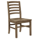 Vaughan-Bassett Simply Dining H/Slat Side Chair (Set of 2) in Natural Maple 224-020