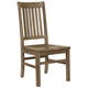 Vaughan-Bassett Simply Dining RT/Slat Side Chair (Set of 2) in Natural Maple 224-040