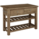 Vaughan-Bassett Simply Dining Island in Natural Maple 224-950