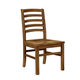 Vaughan-Bassett Simply Dining H/Slat Side Chair (Set of 2) in Antique Amish 230-020